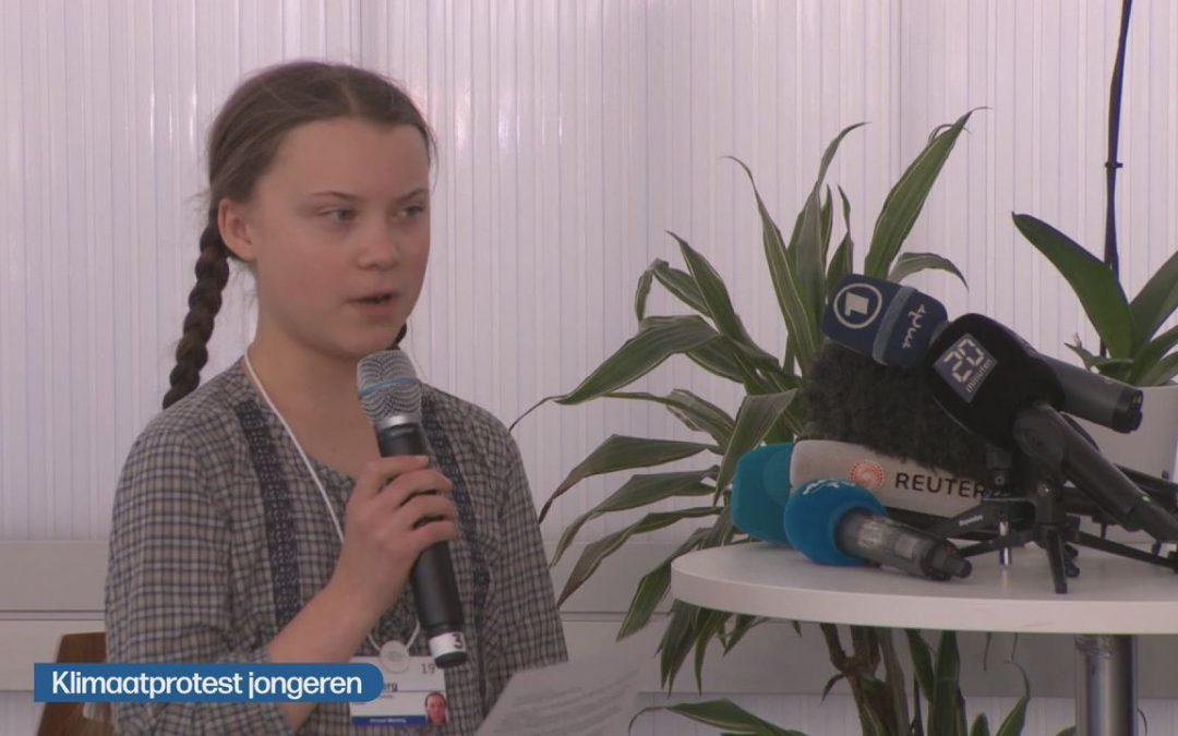 Herbekijk de speech van Greta Thunberg op Davos