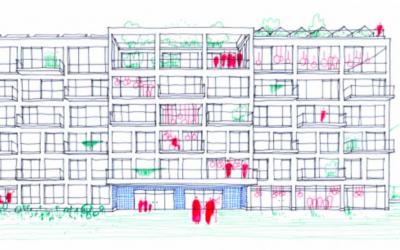 """Cohousing """"Schwung"""" op Komet in Mechelen"""
